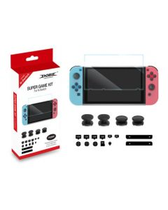 ערכת גיימינג DOBE 4 IN 1 לקונסולת NINTENDO SWITCH