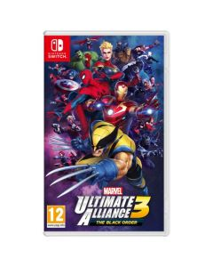 משחק MARVEL ULTIMATE ALLIANCE 3: THE BLACK ORDER ל NINTENDO SWITCH