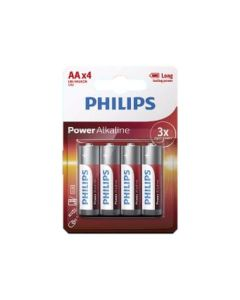 סט 4 סוללות PHILIPS AA