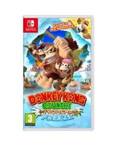 משחק DONKEY KONG COUNTRY: TROPICAL FREEZE ל NINTENDO SWITCH