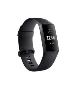 צמיד פעילות FITBIT CHARGE 3 GRAPHITE שחור