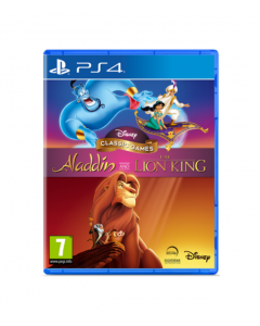 משחק DISNEY CLASSIC GAMES ALADDIN AND THE LION KING ל PS4