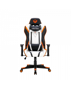 כיסא גיימינג Meetion Gaming Chair CHR15 שחור-לבן-כתום