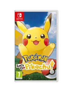 משחק POKEMON LETS GO: PIKACHU ל NINTENDO SWITCH