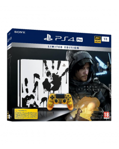 קונסולה PS4 PRO 1TB LIMITED EDITION DEATH STRANDING  יבואן רשמי