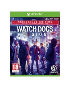 מכירה מוקדמת משחק WATCH DOGS LEGION RESISTANCE EDITION ל XBOX ONE