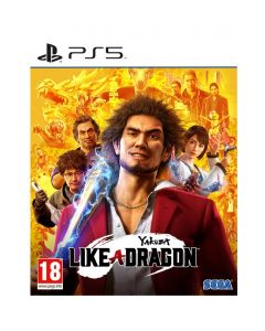 משחק Yakuza: like a  dragon limited d1 editionל PS5